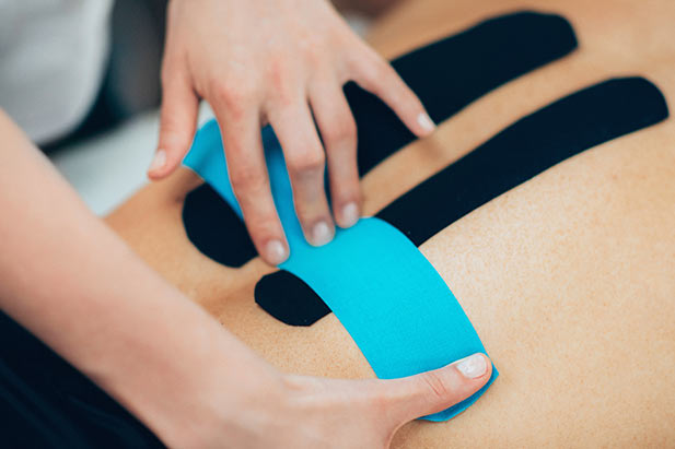 Kinesio taping Schwabach