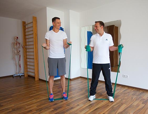 Physiotherapie bei Arthur König in Schwabach