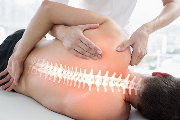 Wirbelsäule-Entspannungs-Massage in Schwabach