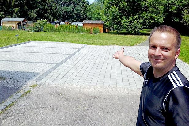 Parken Physiotherapie Arthur König in Schwabach
